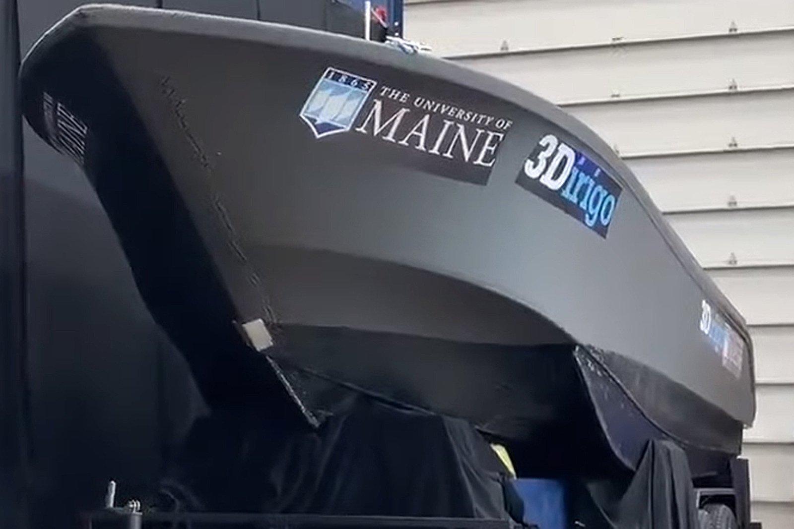 Así se imprime un barco de 2 toneladas en 3D